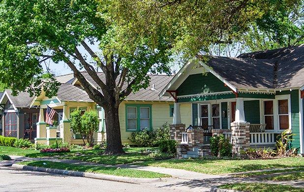 residential home in texas