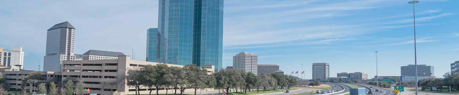 skyline of irving texas