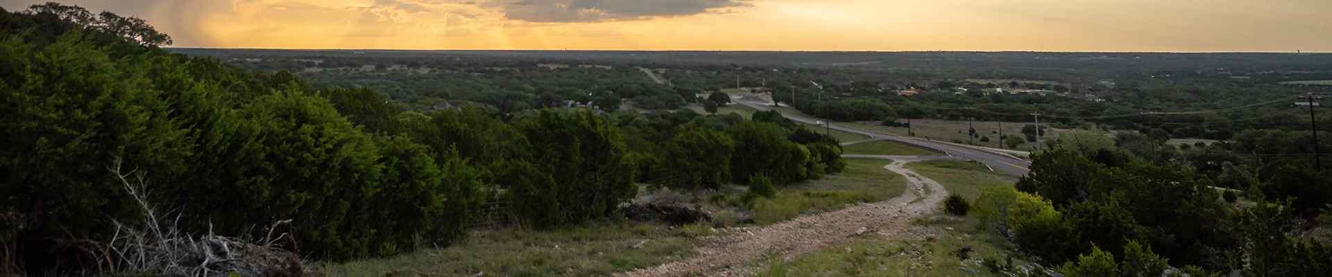 a road in little elm texas