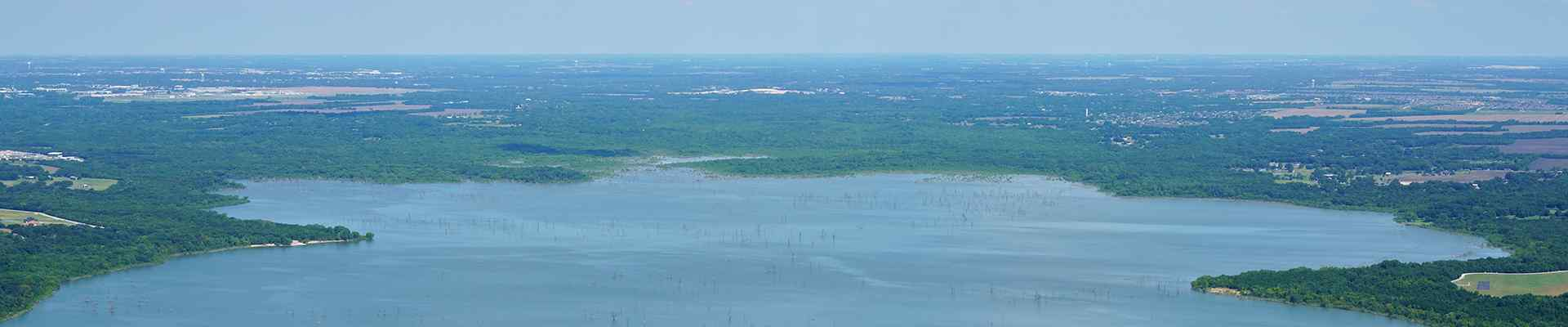skyline view of lucas texas