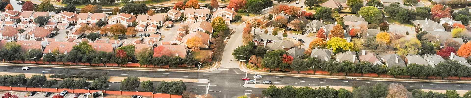 a suburban neighborhood in richland hills texas