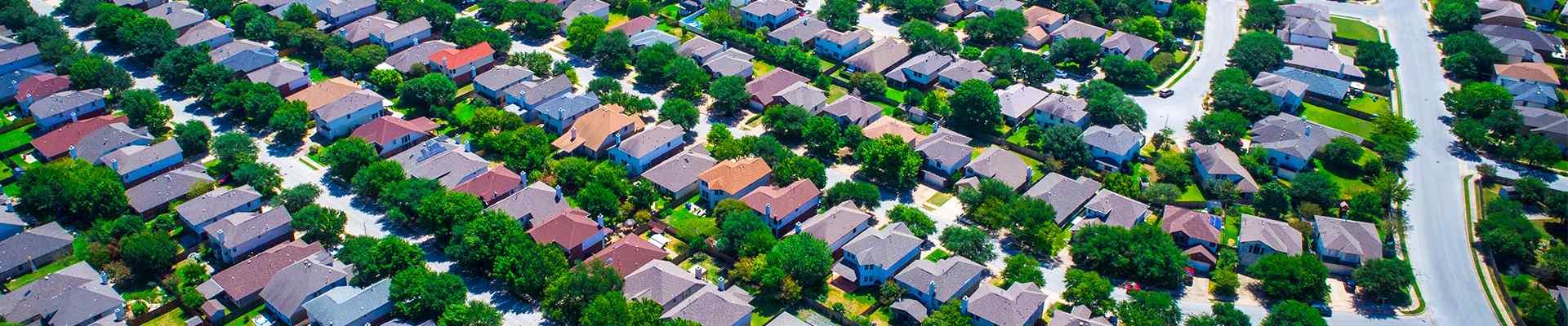 a suburban neighborhood in sachse texas