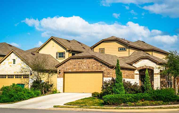 street view of a homes in krum texas