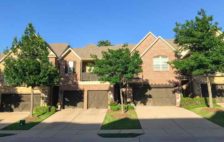 street view of a homes in little elm texas
