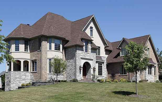 view of a large home in plano texas