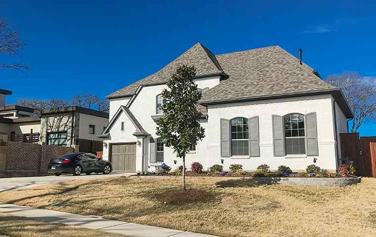 street view of a home and lawn in rockwall texas
