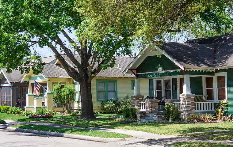 street view of a homes in sachse texas
