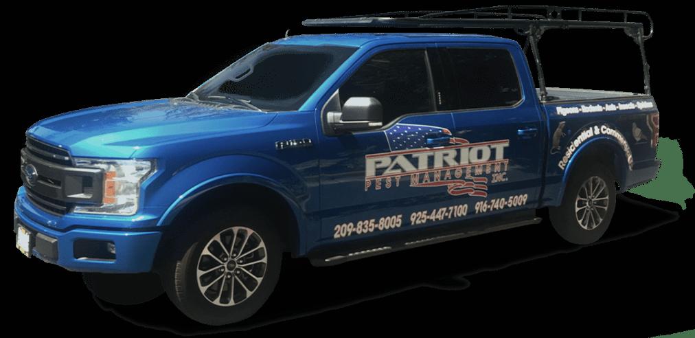 patriot pest management truck