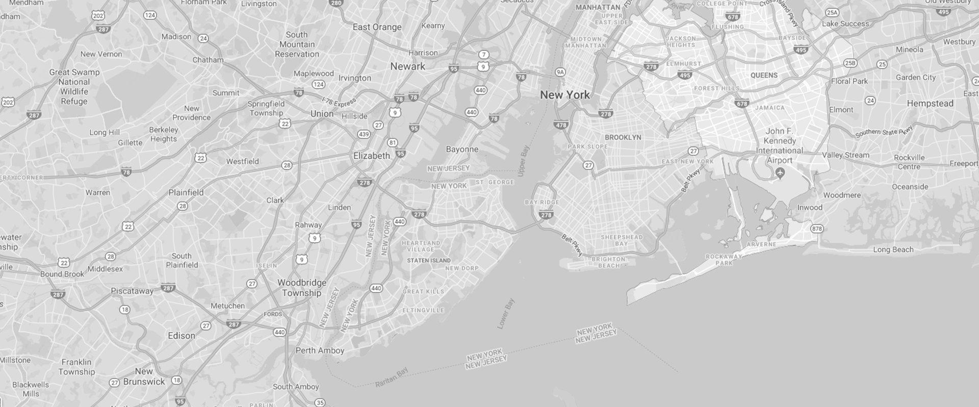 a map of queens new york