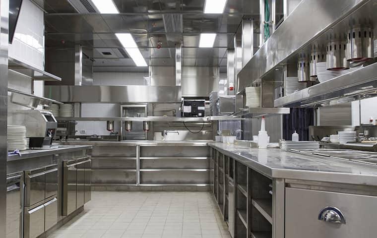 interior view of a restaurant kitchen in adair oklahoma