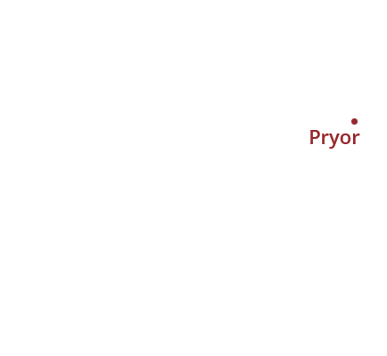 where we service map of oklahoma