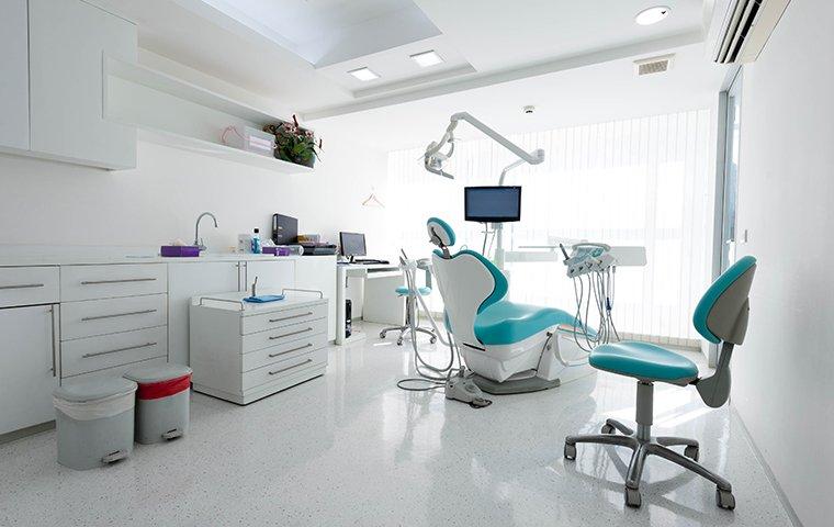 a clean memphis, tn dental hygienist's office